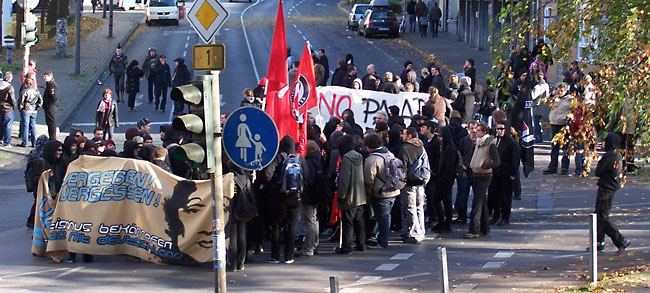 Aachen 8. November 2008: Alerta Antifascista!