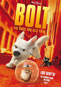 Bolt – Ein Hund für alle Fälle (R: Byron Howard & Chris Williams)