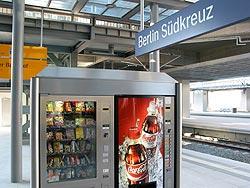 Lesehefte aus Automaten am Südkreuz
