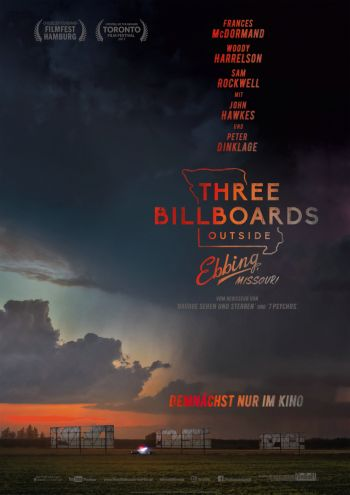 Three Billboards outside Ebbing, Missouri (Martin McDonagh)