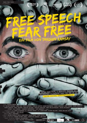 Free Speech Fear Free (Tarquin Ramsay)