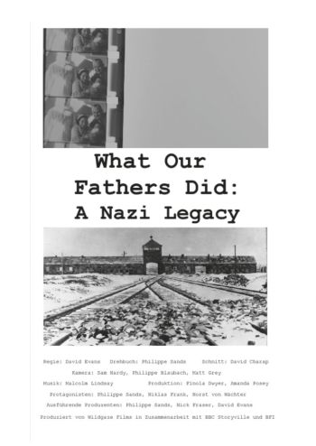 What Our Fathers Did: A Nazi Legacy (David Evans)