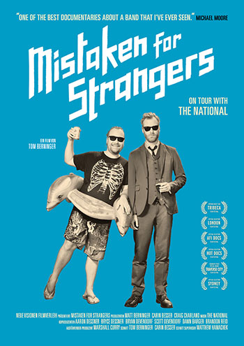 Mistaken for Strangers (Plakat)