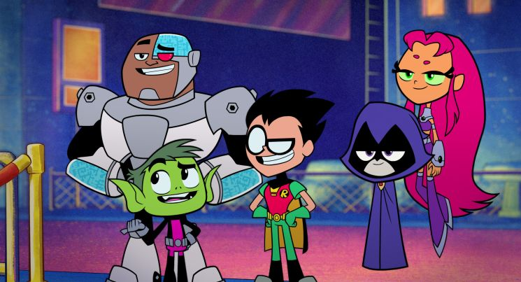 Teen Titans go! to the Movies (Peter Rida Michail & Aaron Horvath)