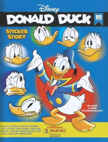 Panini Donald Duck Sticker Story, das Album