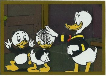 Panini Donald Duck Sticker Story, Sticker #193 (Foliensticker, Barks)