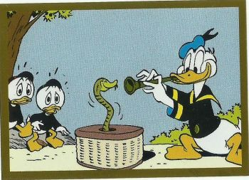 Panini Donald Duck Sticker Story, Sticker #231 (Foliensticker, Barks)